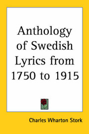 Anthology of Swedish Lyrics from 1750 to 1915 image