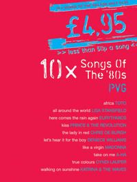 10 Songs Of The 80's: PVG image
