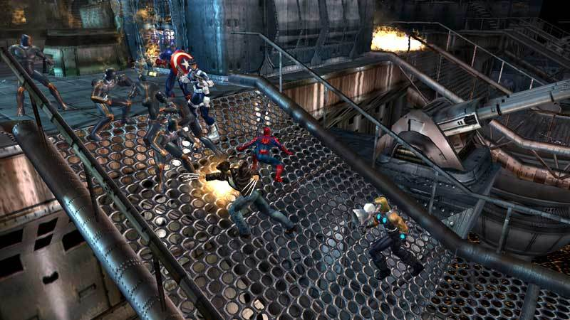 Marvel: Ultimate Alliance for Xbox 360 image