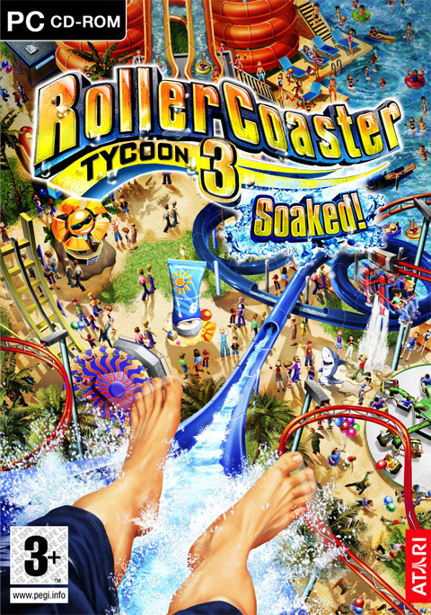 RollerCoaster Tycoon 3: Soaked! for PC Games