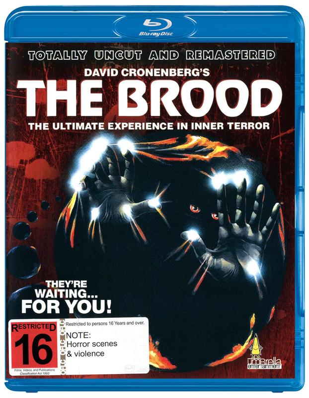 The Brood on Blu-ray