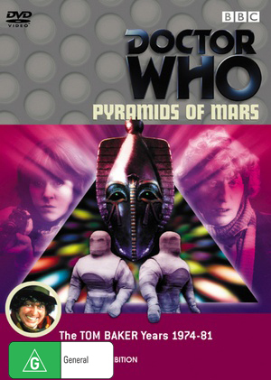 Doctor Who - The Pyramids of Mars on DVD image
