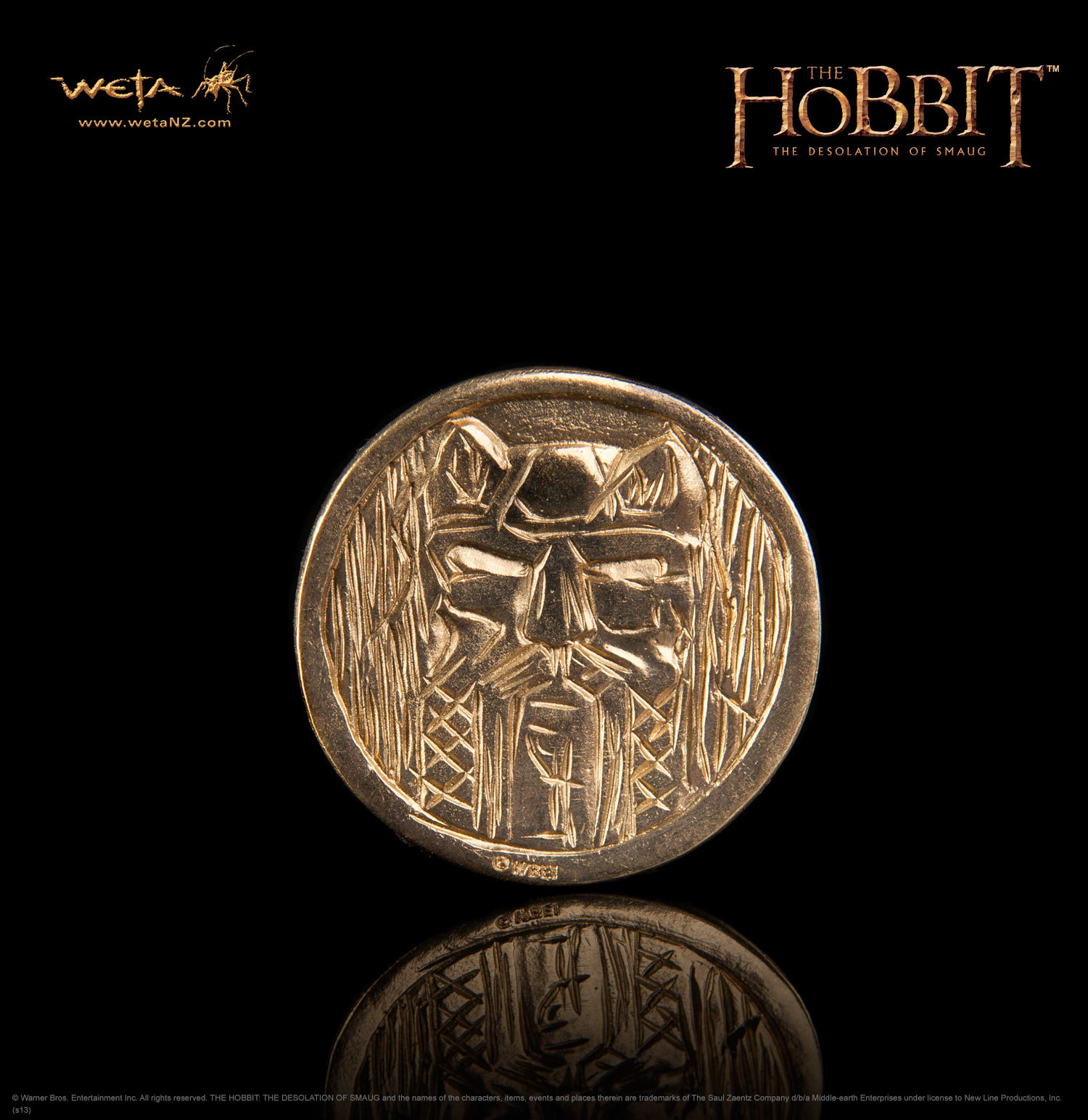 The Hobbit: Desolation of Smaug Treasure Coin #5 - by Weta image