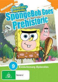 SpongeBob SquarePants - SpongeBob Goes Prehistoric on DVD