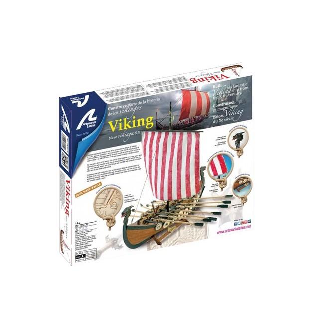 Artesania Latina: 1/75 Wooden Viking Ship - Scale Model