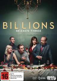 Billions: Season 3 on DVD