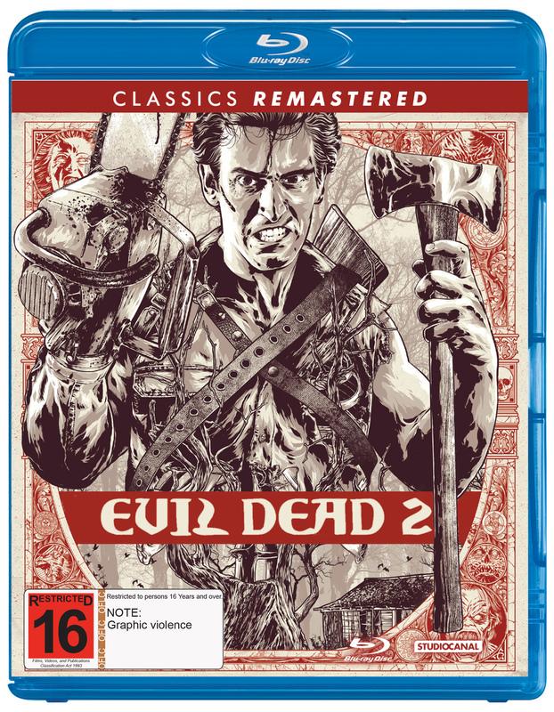 Evil Dead 2 on Blu-ray