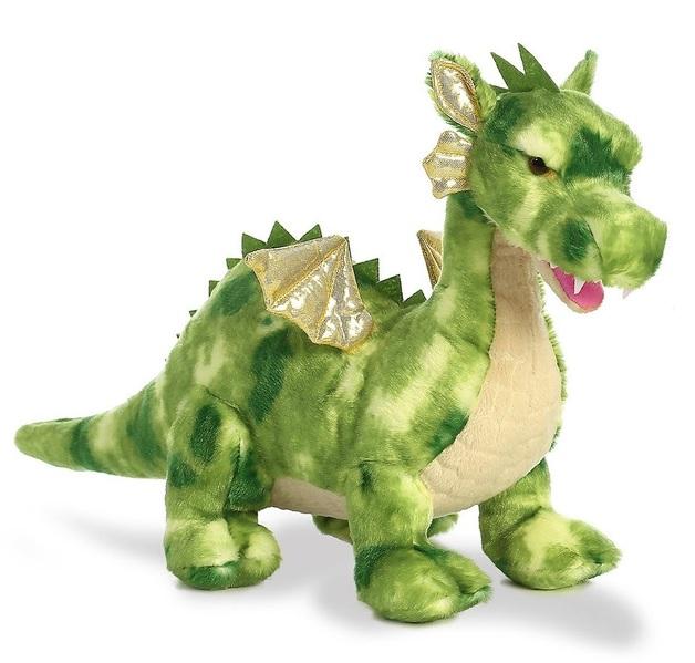 "Aurora: Vollenth the Green Dragon - 18"" Plush"