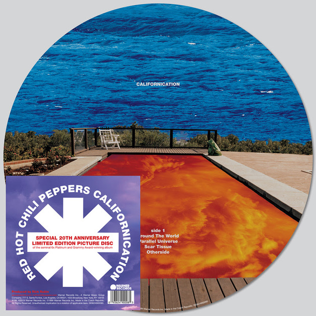 Californication (Picture Disc) by Red Hot Chili Peppers