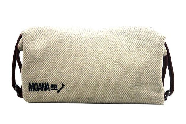 Moana Road Canvas Toiletry Bag (Tan)