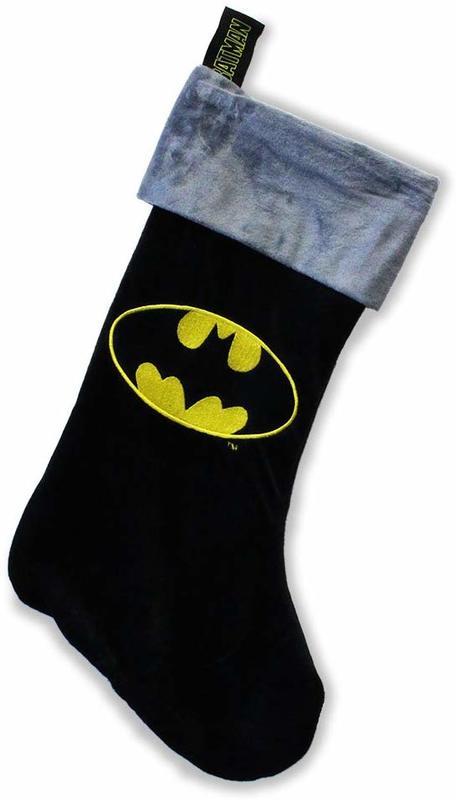 DC Comics: Batman Fleece Christmas Stocking