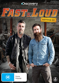 Fast N' Loud: Revved Up on DVD