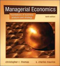 Managerial Economics by S. Charles Maurice image