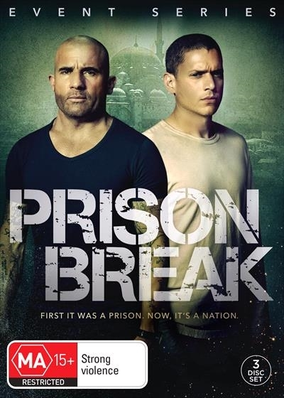 Prison Break Event Series on DVD image