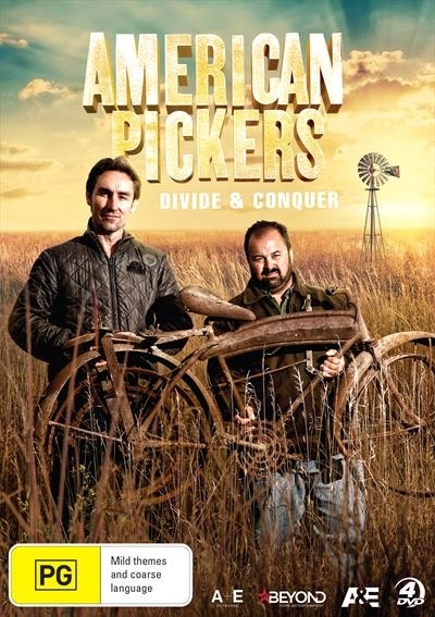 American Pickers: Divide & Conquer on DVD