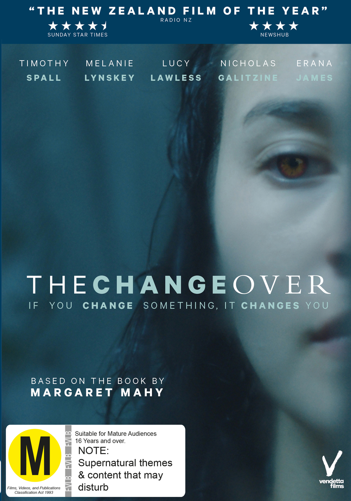 The Changeover on DVD image