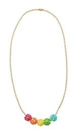 Pink Poppy: Sparkling Gem - Bead Necklace