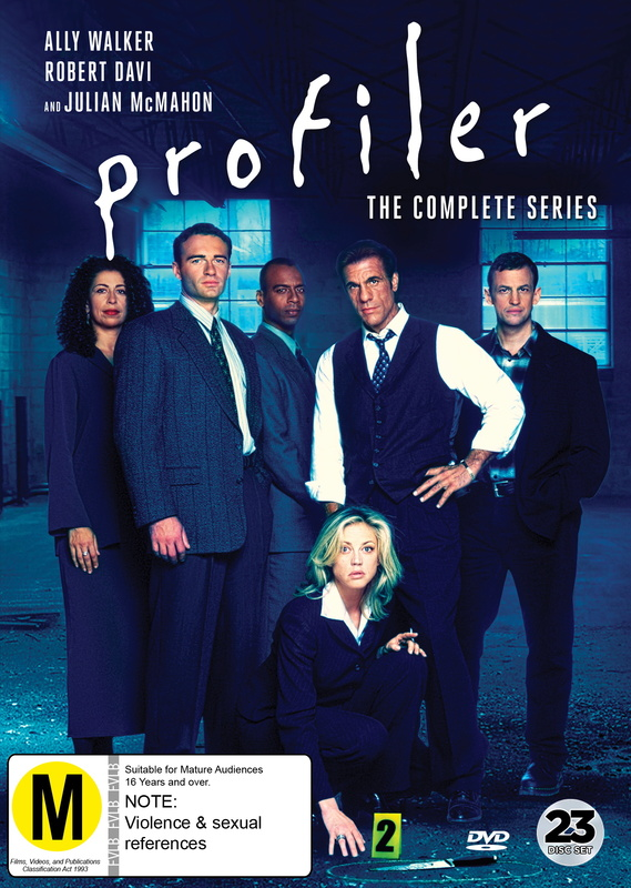 Profiler - The Complete Series on DVD