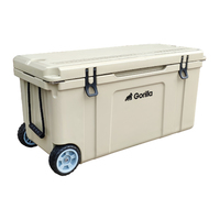 Gorilla Heavy Duty Ice Box Chilly Bin with Wheels 120L