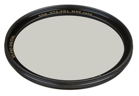 B+W: XS-Pro Kaesemann HTC CPL MRC Nano Filter - 55mm
