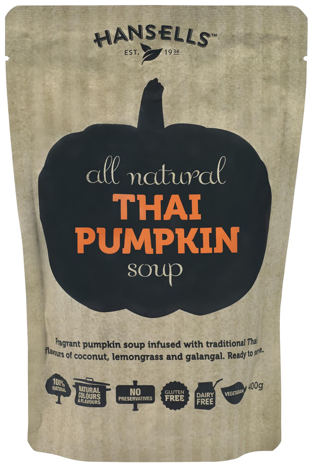 Hansells: All Natural Soup - Thai Pumpkin (6 x 400g) image