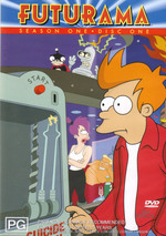Futurama - Season 1 Disc 1 on DVD