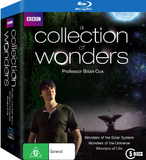 A Collection of Wonders Box Set - Professor Brian Cox on Blu-ray