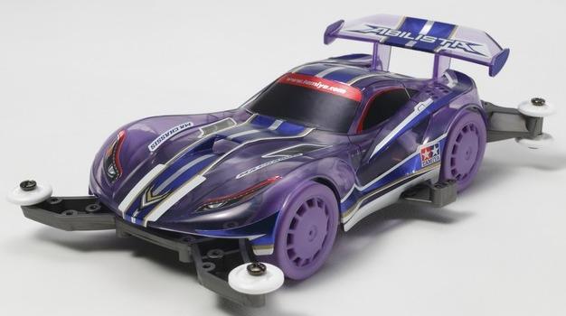 Tamiya: 1/32 Abilista Purple - Mini 4WD image