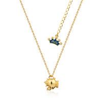 Disney Couture Junior Mrs Potts Necklace - Gold