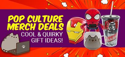 Pop Culture Merch Deals!