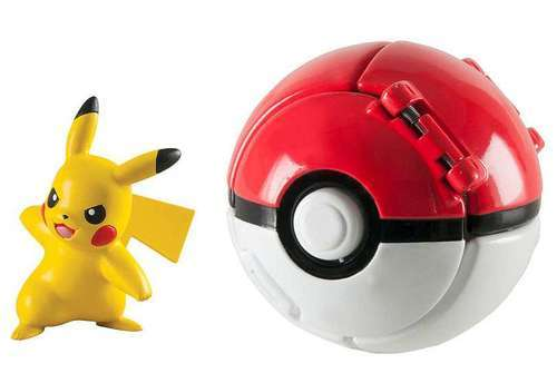 Pokémon: Pikachu & Poke Ball - Throw 'n' Pop Set image