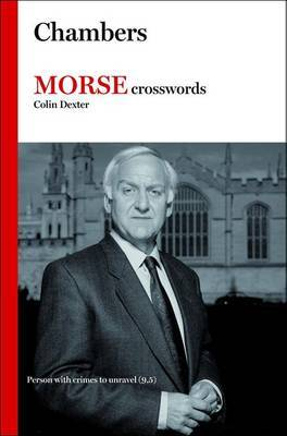 "Book of ""Morse"" Crosswords by Colin Dexter"