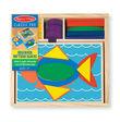 Beginner Wooden Pattern Blocks - Melissa & Doug