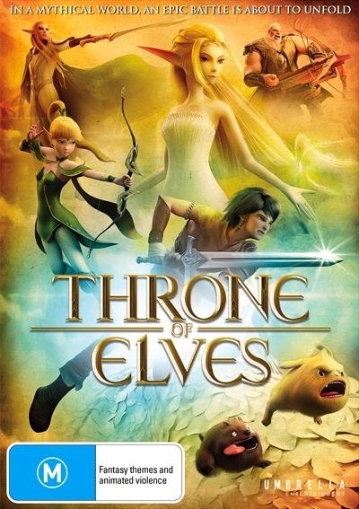 Throne of Elves on DVD