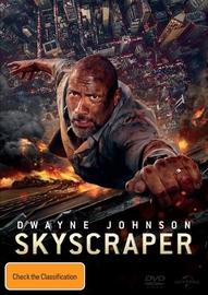 Skyscraper on DVD