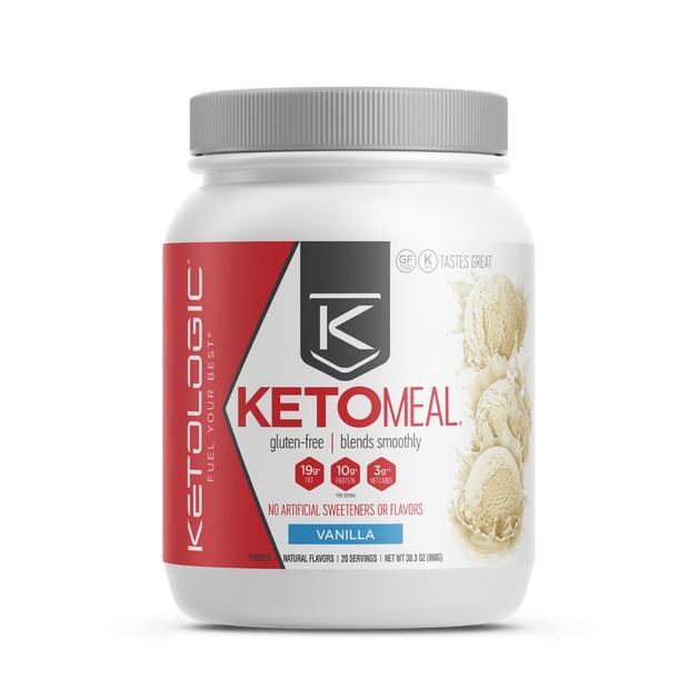 Ketologic: Keto Meal - Vanilla (16 Serves)