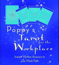Poppy's Tarot for the Workplace: Instant Written Answers to Your Work Path by Poppy image