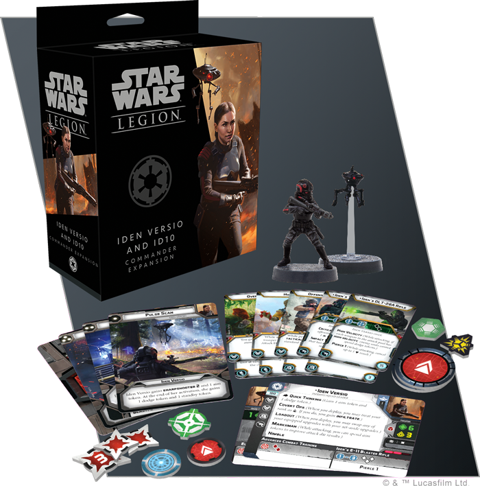 Star Wars Legion: Iden Versio and ID10 Commander Expansion image