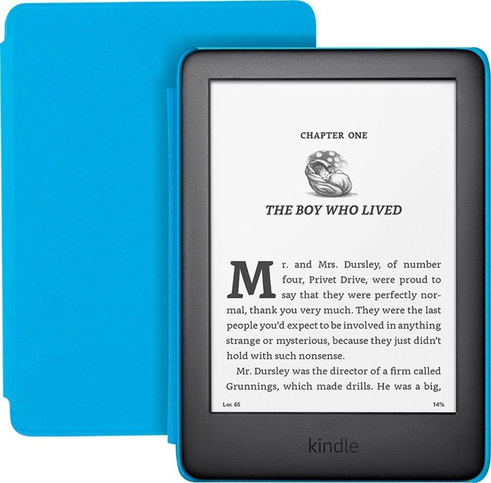 "Kindle (10th Gen) Kids Edition 6"" Display (8GB) - Blue image"