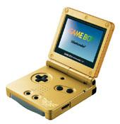 Game Boy Advance SP - Zelda Limited Edition for Game Boy Advance