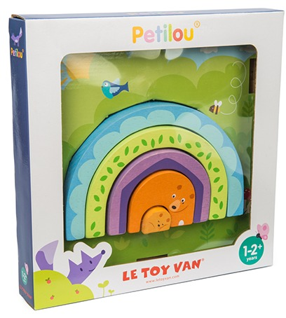 Le Toy Van: Petilou - Tunnel Puzzle Momma Bear image