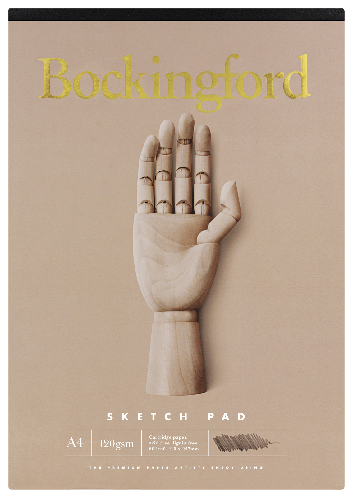 Bockingford A4 B21 60lf 120gsm Sketch Pad image