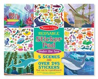 Melissa & Doug: Under the Sea Reusable Sticker Pad
