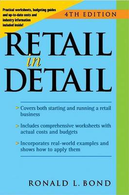Retail in Detail by Ronald L Bond
