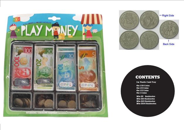 New Zealand - Play Money Set