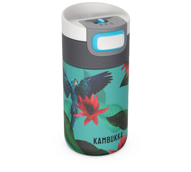 Kambukka: Etna 3-in-1 Snapclean Travel Mug - Parrots (300ml)