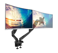 Gorilla Arms Dual Gas Spring Integrated Monitor Mount