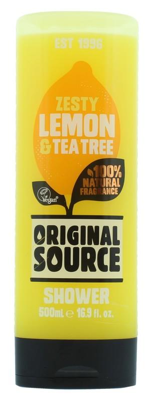 Original Source: Shower Gel Lemon & Tea Tree (500 ml)