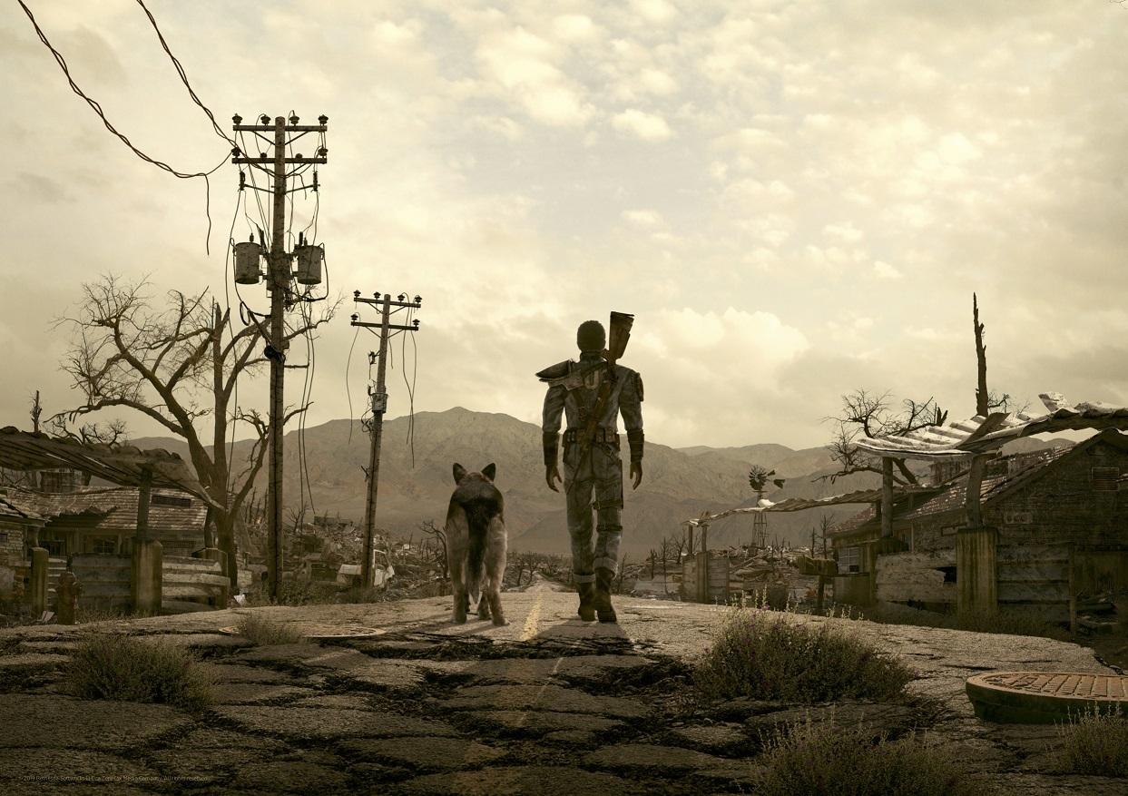 Fallout - Premium Art Print - The Wasteland image
