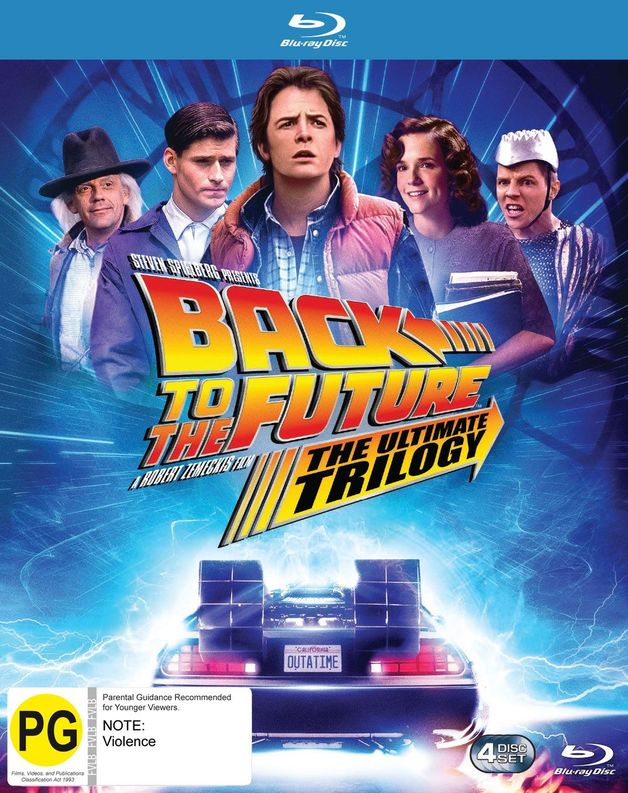 Back To The Future Remastered Trilogy Box Set on Blu-ray